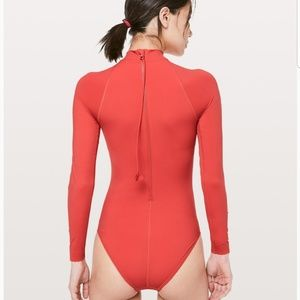 Lululemon will the wave longsleeve one Piece